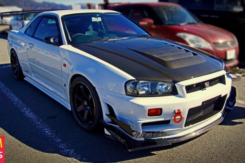 Nissan Skyline GT R R34 V Spec II, Nissan Skyline GT R R34, Nissan, JDM,  Car Wallpaper HD