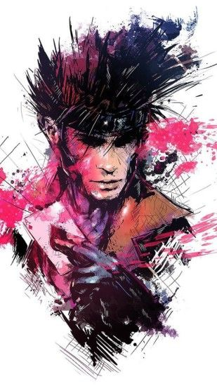 Gambit Iphone Wallpaper Id 44970