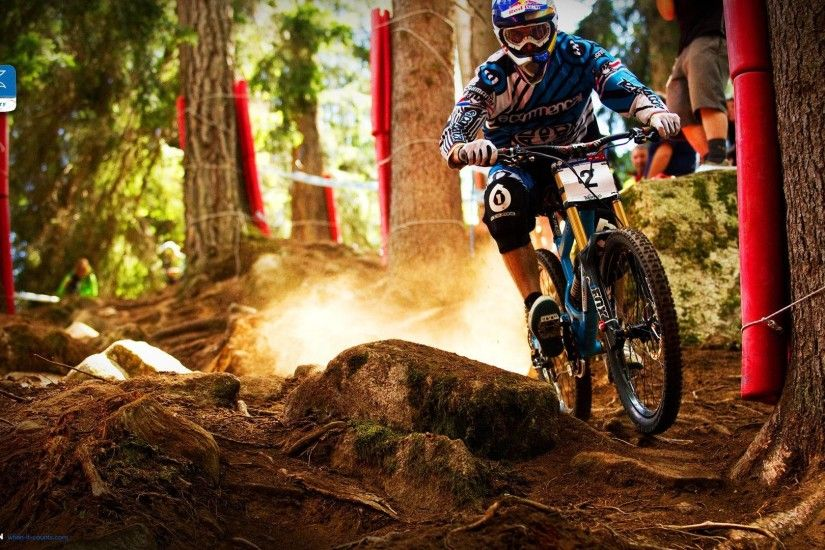 Wallpapers For > Mountain Bike Wallpaper