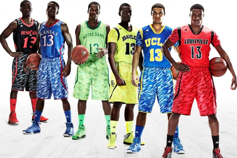 ... Wallpaper · Adidas Redesigns UCLA, Kansas And Notre Dame'S Basketball  Uniforms For ...