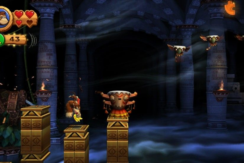 HQ RES donkey kong country returns wallpaper (Laramie Holiday 1920x1080)