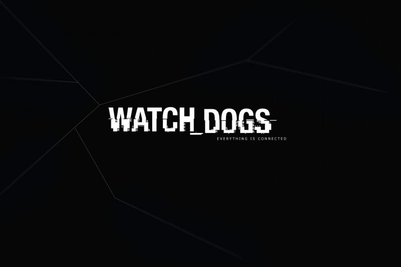 Watch Dogs Logo Game HD Wallpaper | Game HD Wallpaper