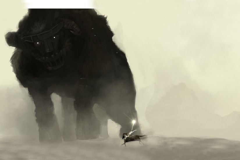 Artwork Fantasy Art Paintings Shadow Of The Colossus
