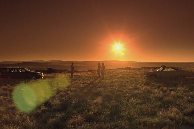 Sunset lens flare volvo breaking bad evening wallpaper