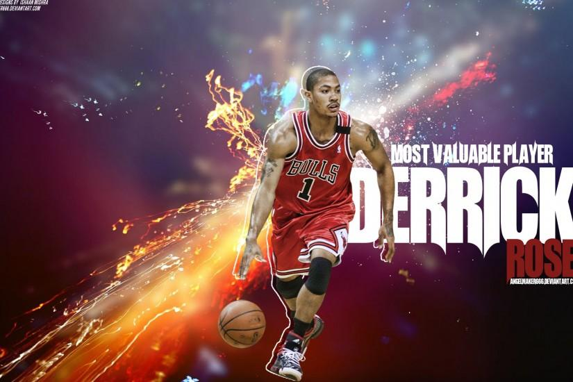 Derrick Rose Wallpaper 2014 Hd Derrick rose w…
