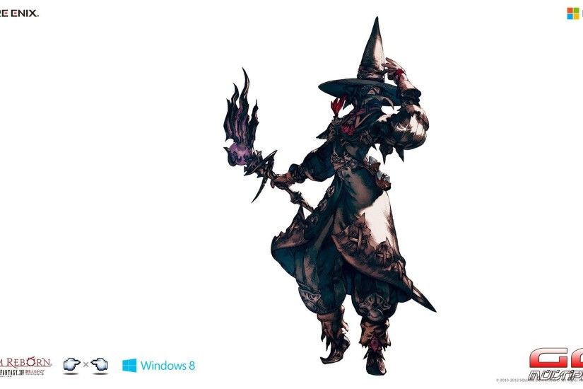Final Fantasy 14 Black Mage ...