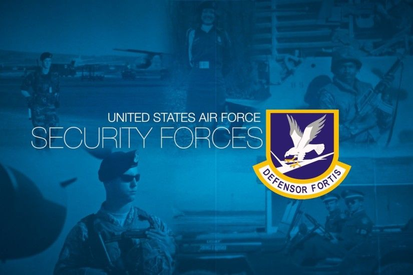USAF Security Forces Patch | Medals of America Military Wallpaper ...