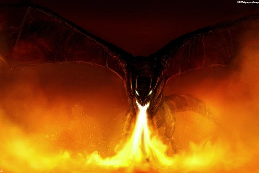 Fire Breathing Dragon Wallpapers