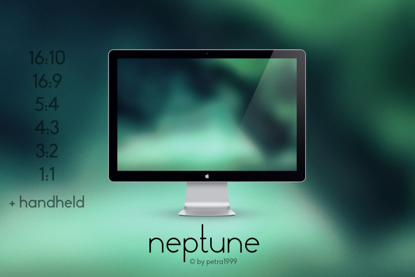 ... Neptune - MULTI-RES WALLPAPER by Petra1999