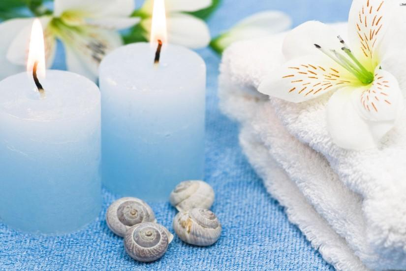 Ice Blue Spa background