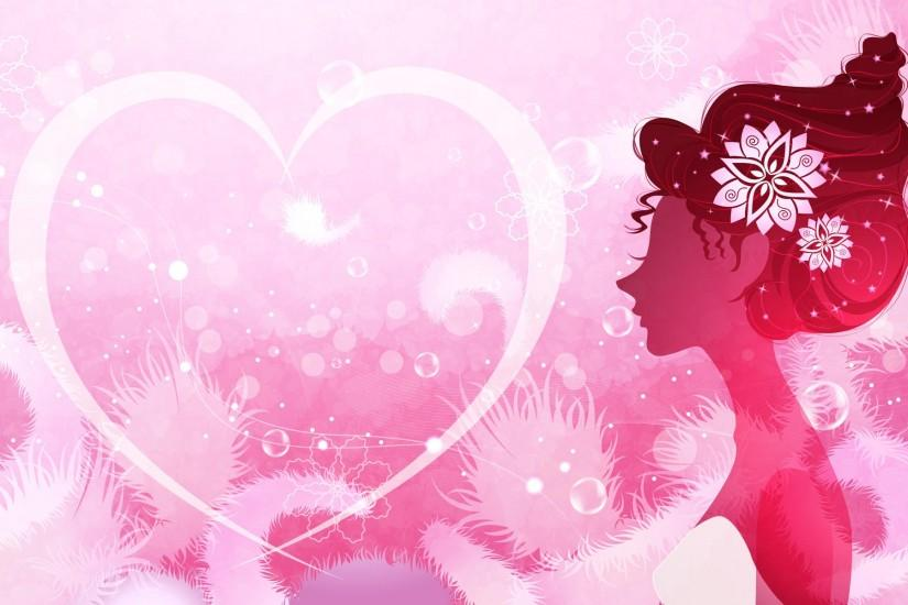 Cool pink wallpapers for girls
