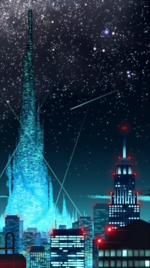 Anime City. Wallpaper 596436