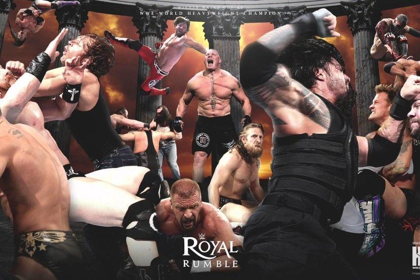 KupyWrestlingWallpapers.info - 2016 WWE Royal Rumble wallpaper - YouTube