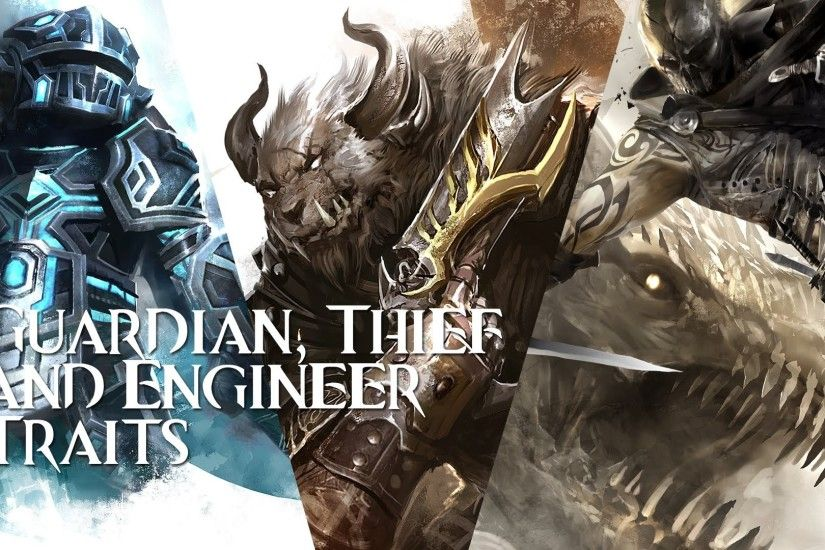 Guild Wars 2 - Guardian Thief and Engineer Traits