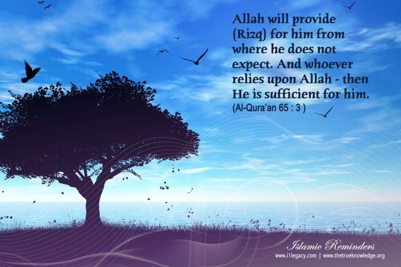 Allah The Best Provider