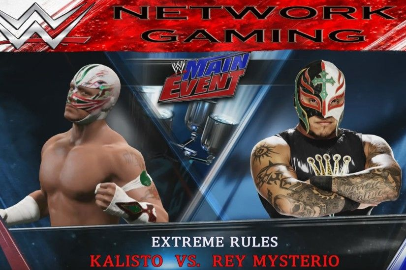 Kalisto vs Rey Mysterio Full Match Main Event WWE 2K15 PS4 XBOX ONE -  YouTube