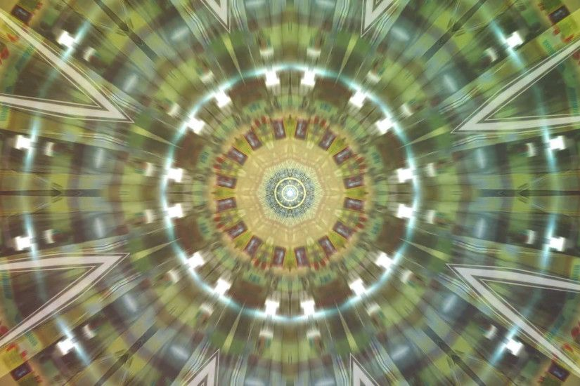Subscription Library Creative kaleidoscope background for title credits,  intro sequence, transition, music videos, concerts