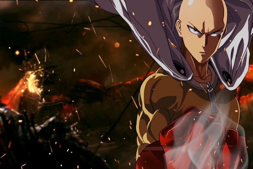 Anime One-Punch Man Saitama (One-Punch Man) Anime Wallpaper