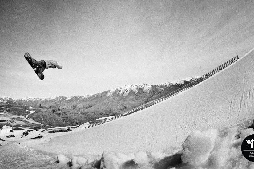 Snowboard Wallpaper – Christian Haller Method, Snow Park NZ
