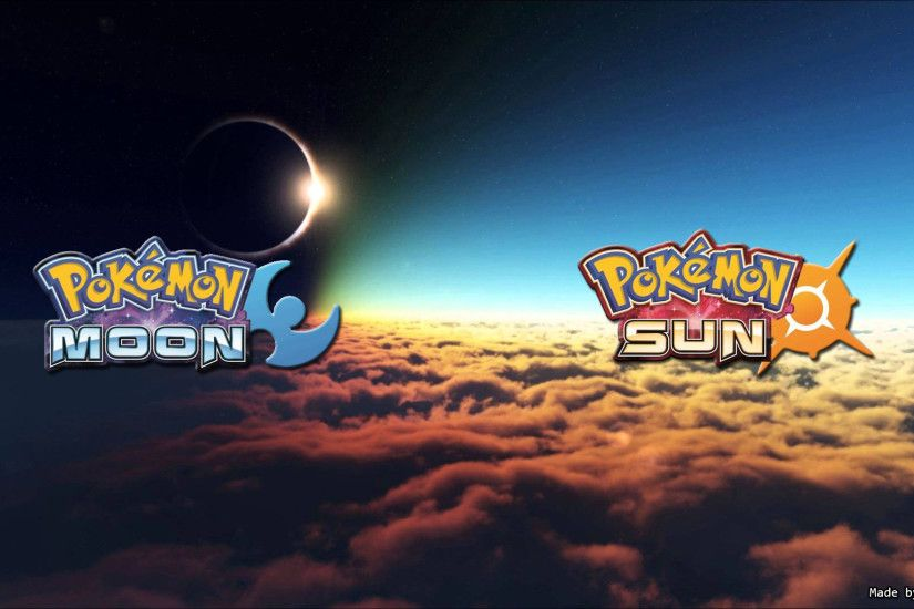 ... Pokemon Moon and Sun Desktop Wallpaper (Sam Ford) by sam15041999