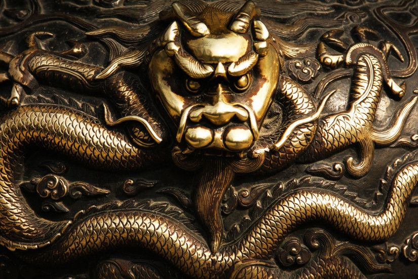 Golden dragon wallpaper 1920x1080 jpg
