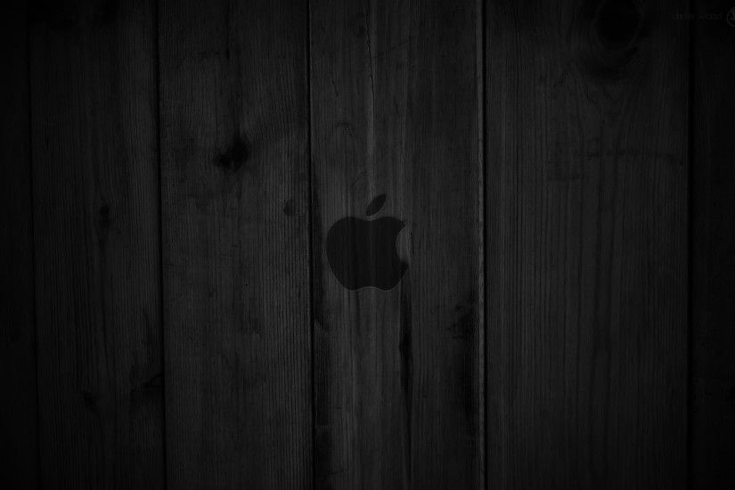 Preview wallpaper wood, dark, lines, background, apple, mac 1920x1200