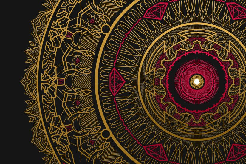 mandala wallpapers wallpapercraft