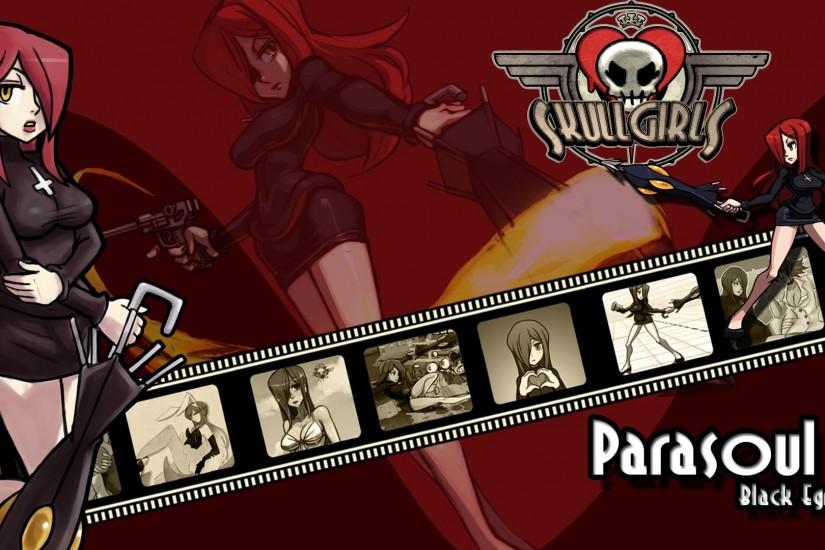skullgirls wallpaper parasoul