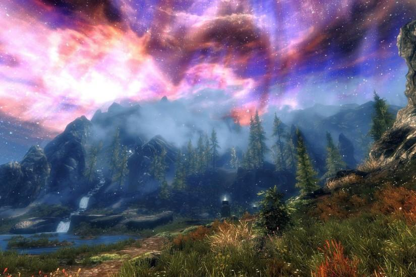 widescreen skyrim wallpaper 1920x1080 x
