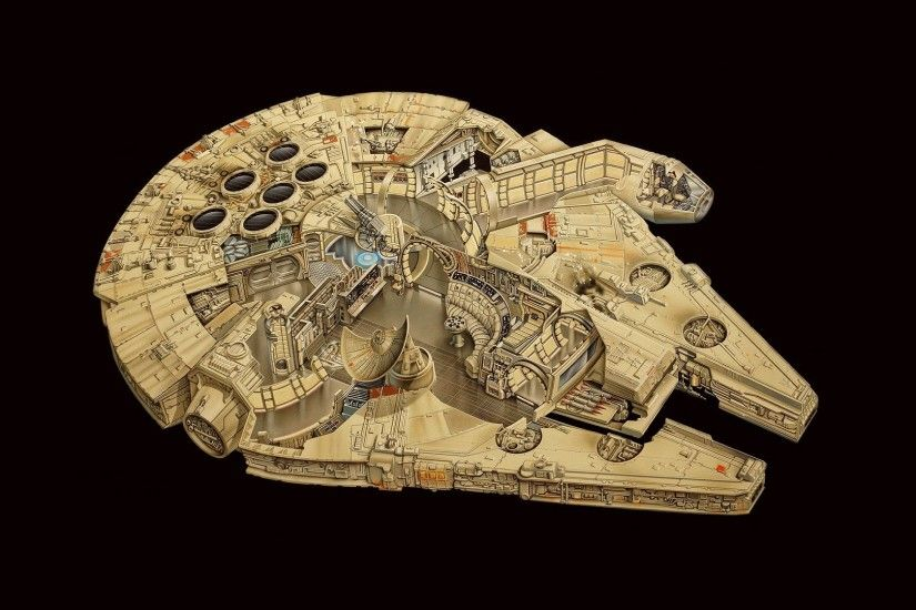 Millennium Falcon, Star Wars Wallpapers HD / Desktop and Mobile Backgrounds