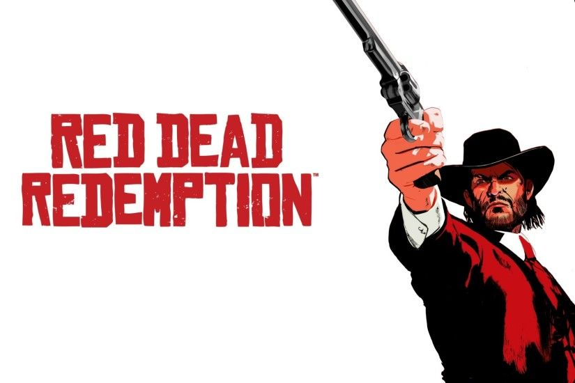 2048x1152 Wallpaper red dead redemption, john marston, revolver, cowboy