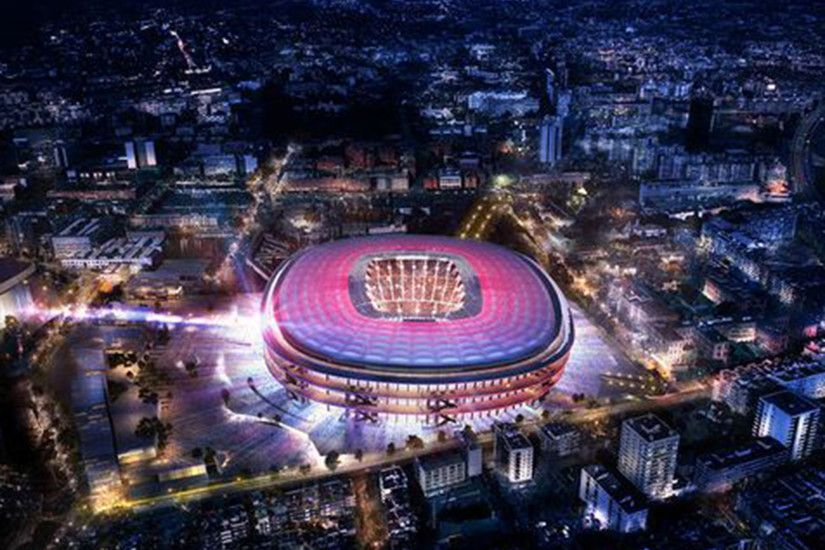 Nou Camp redevelopment: Barcelona plan £500m upgrade of stadium | The  Independent