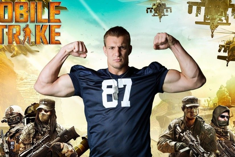 Video Game - Mobile Strike Rob Gronkowski Wallpaper