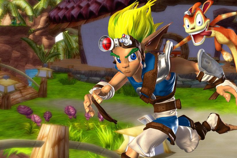 Video Game - Jak and Daxter: The Precursor Legacy Bakgrund