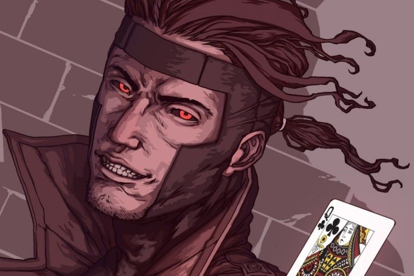 3840x1200 Wallpaper x-men, gambit, marvel comics, art, mutant