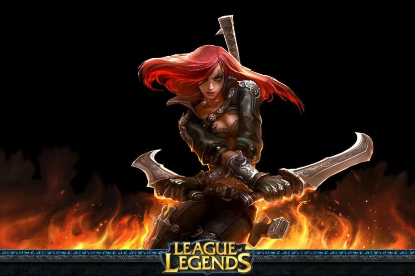 League Of Legends Katarina Wallpaper 851336