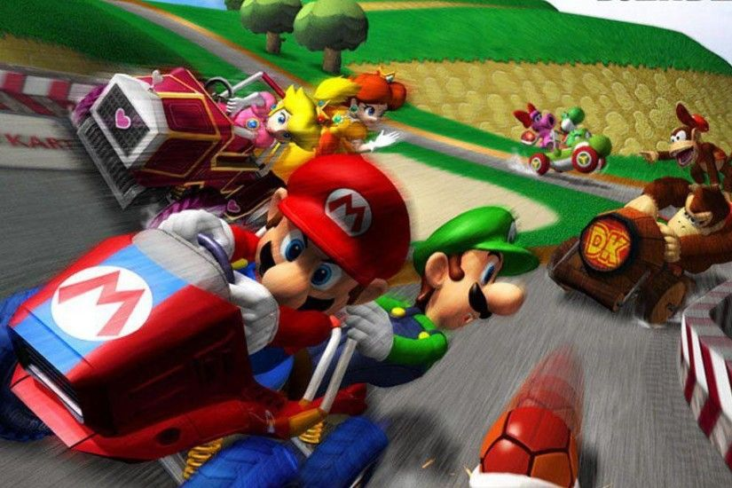 <b>Mario Kart</b> Wii <b>Wallpapers</