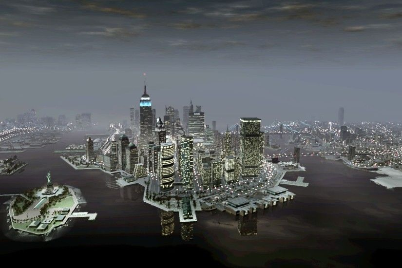 GTA IV City Wallpapers | HD Wallpapers Grand Theft Auto IV wallpaper - Game  wallpapers - #41883 ...