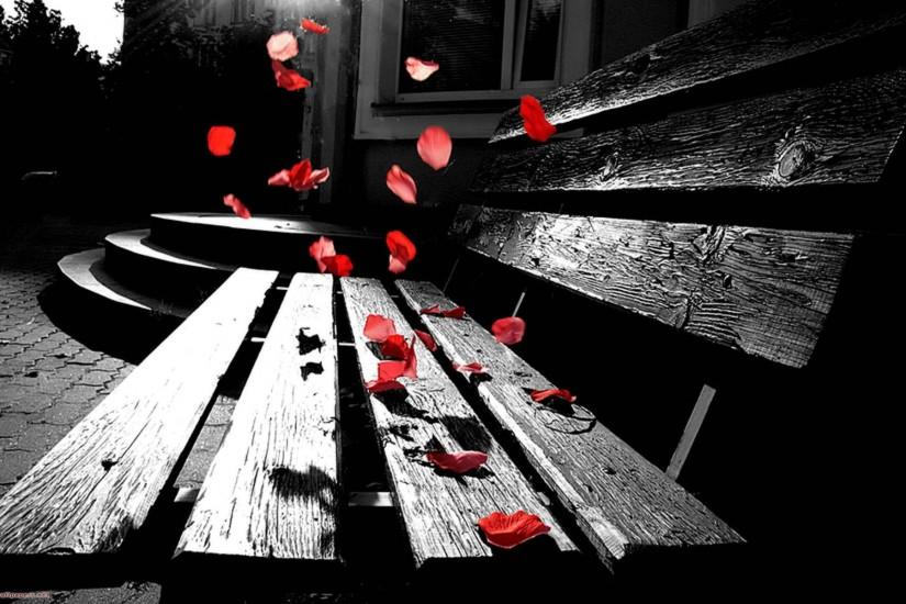 Wallpapers For > Black And White Romantic Backgrounds