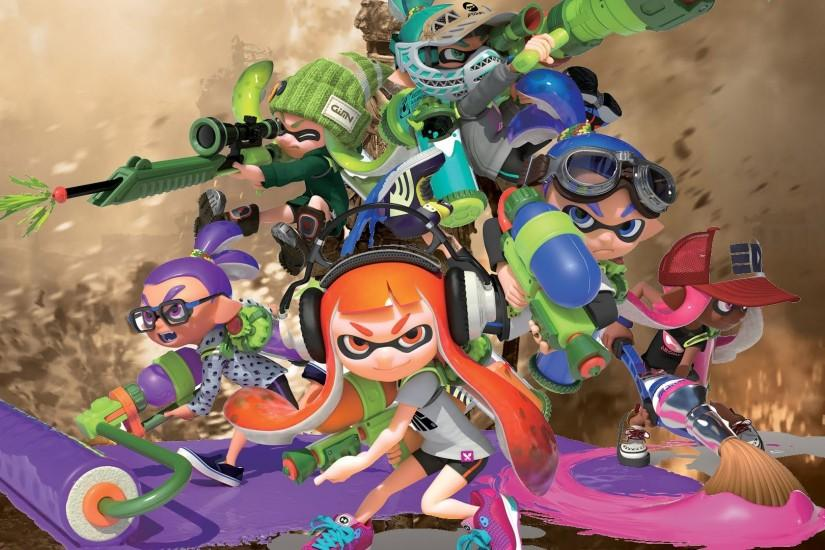 full size splatoon wallpaper 1920x1080