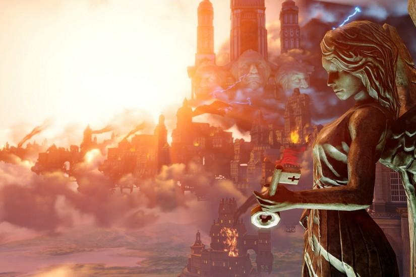 Bioshock Infinite Computer Wallpapers, Desktop Backgrounds | 2560x1080 .