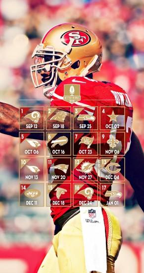 49ers wallpaper 1600x3020 ipad