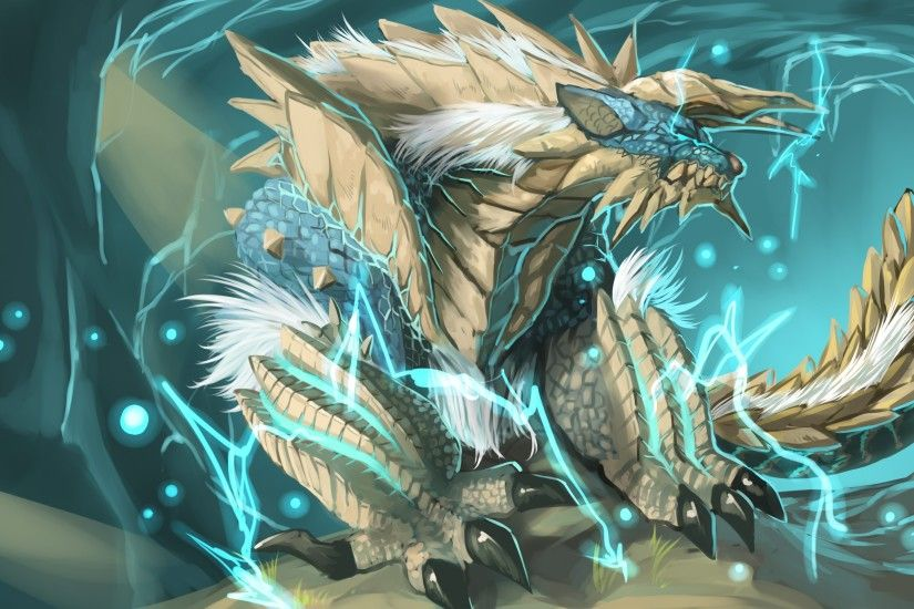 General 2923x1800 Monster Hunter Zinogre