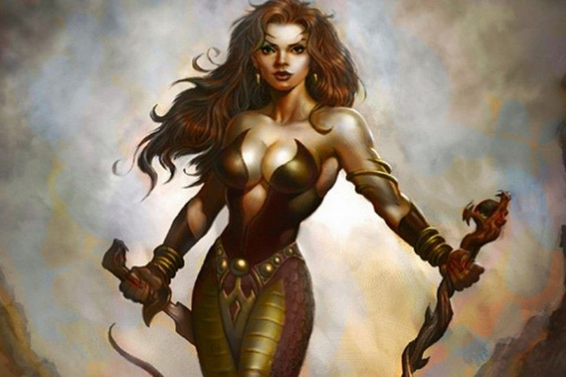 Woman warrior and Anime warrior on Pinterest. Women Warrior Computer  Wallpapers