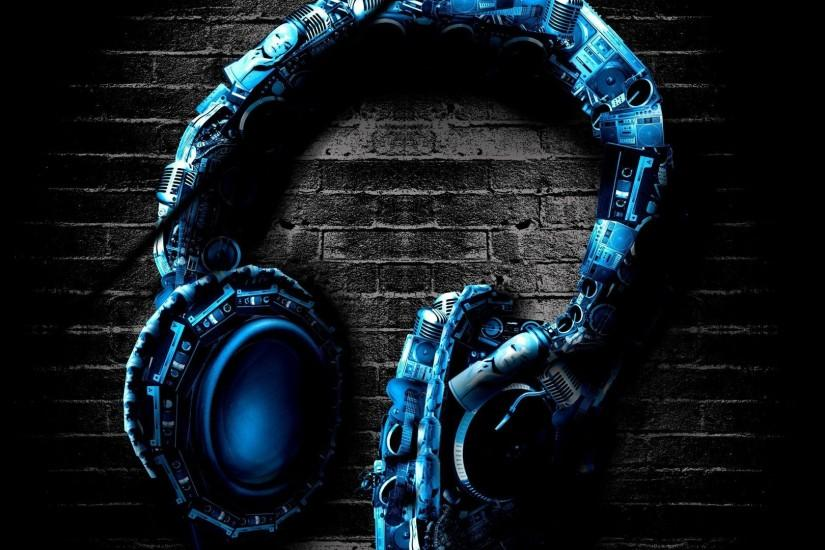 Awesome headphones wallpaper - Music wallpapers - #22506