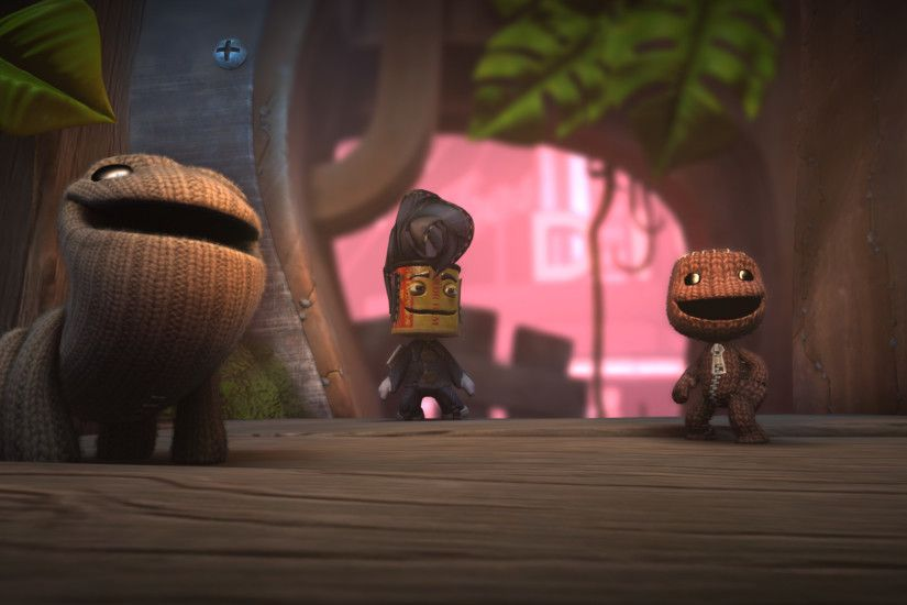 When Sackboy met Oddsock.
