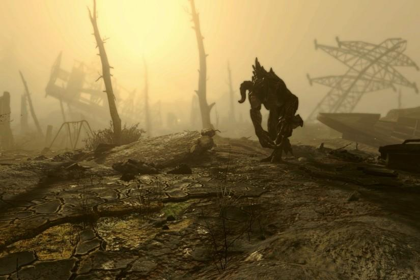 Fallout, Fallout 4, Video Games, Deathclaw Wallpaper HD