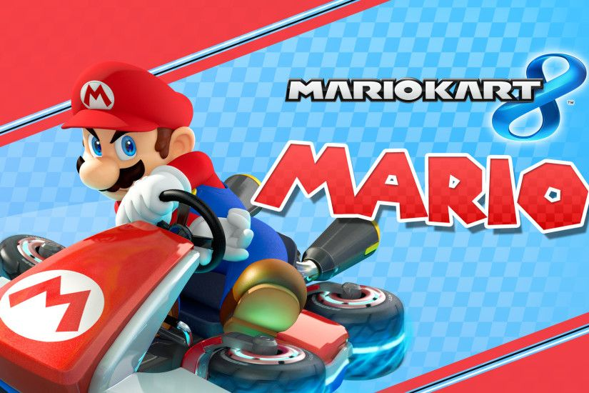Mario Kart 8 Background