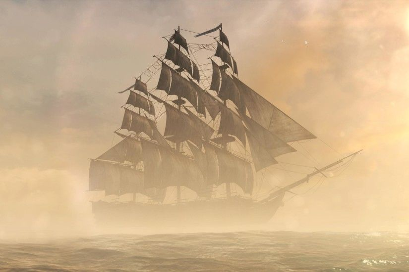Caio Reviews: AC IV's Legendary Ships in GIF FormAT