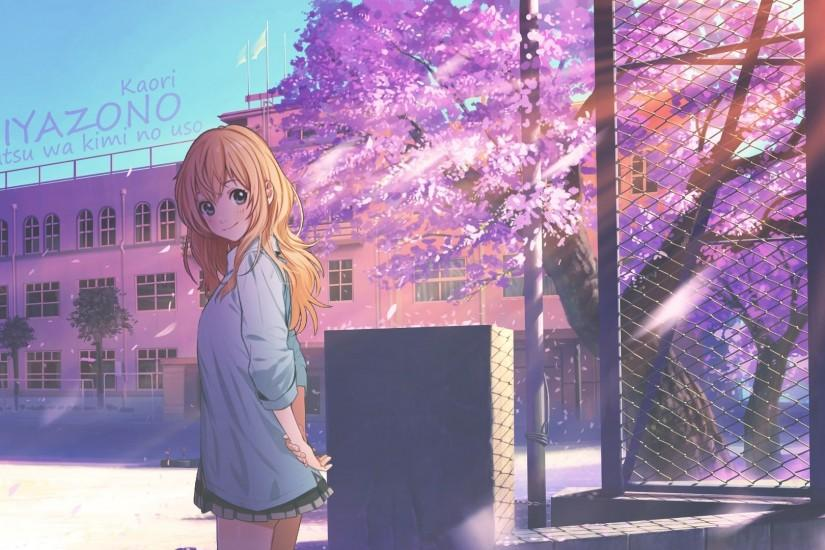 gorgerous your lie in april wallpaper 1920x1080 for android tablet